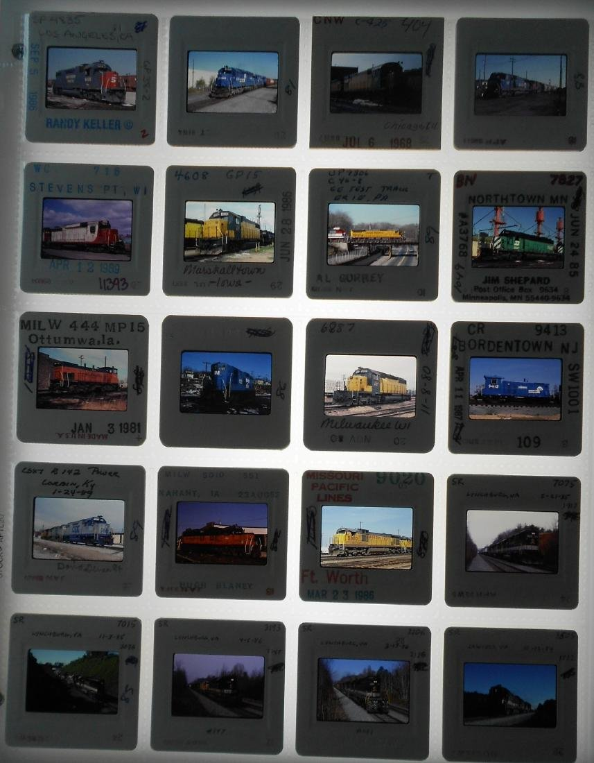 Main Line Railroad Color Slides #3 (200) - 2