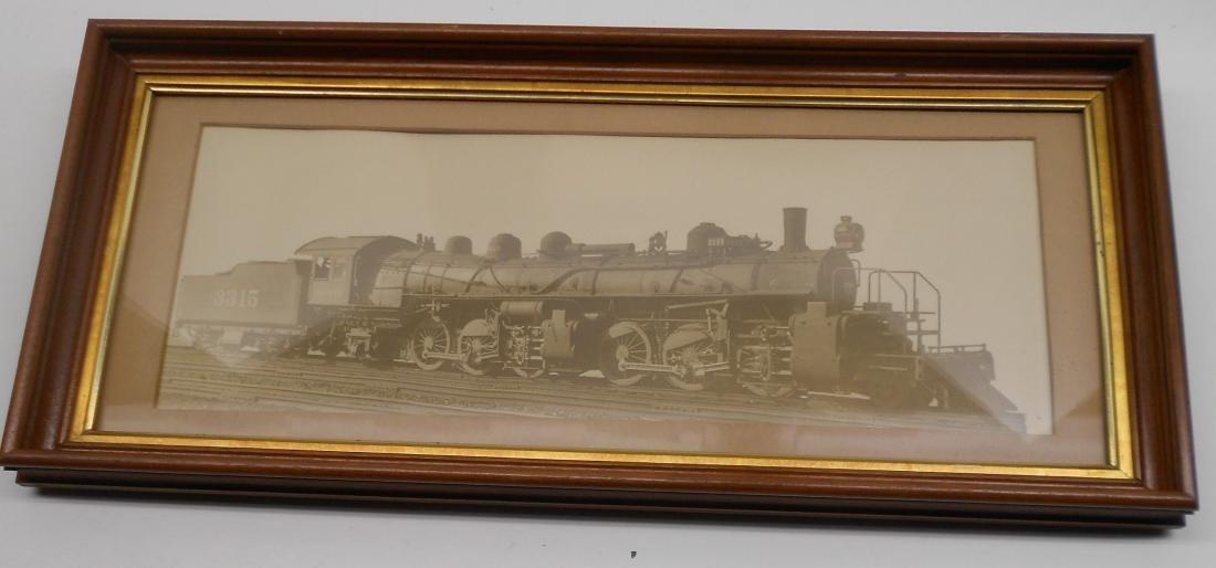 Santa Fe Photo Steam Locomotve 3315 2-6-6-2