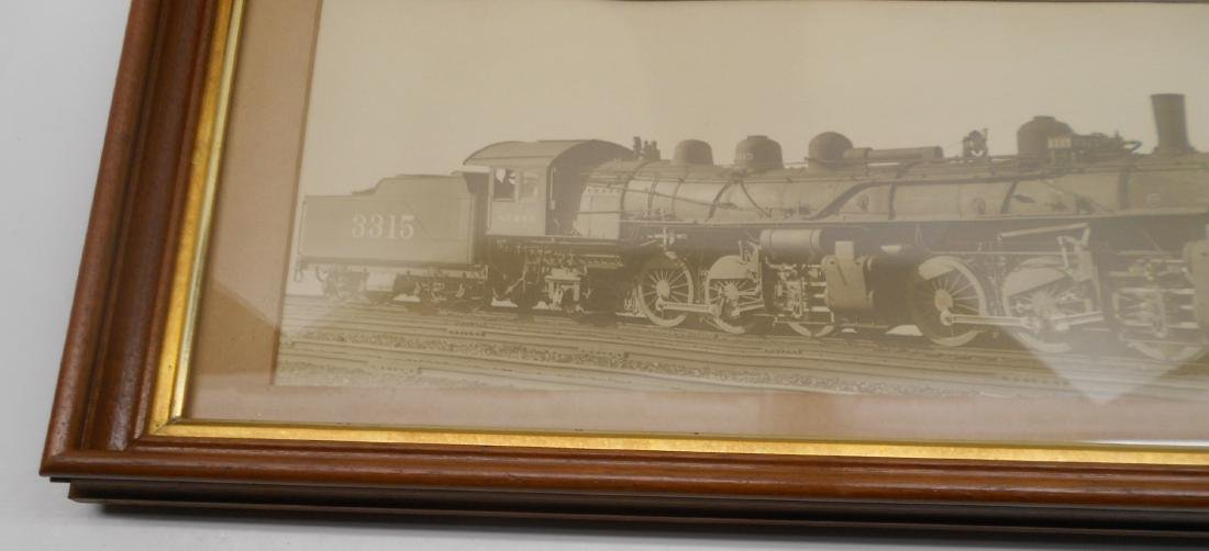 Santa Fe Photo Steam Locomotve 3315 2-6-6-2 - 2