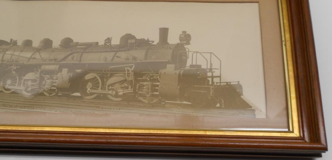 Santa Fe Photo Steam Locomotve 3315 2-6-6-2 - 3