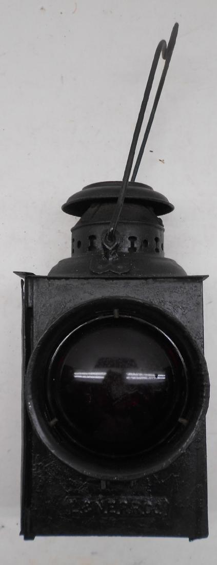 Lehigh & New England Railroad Gate Lamp