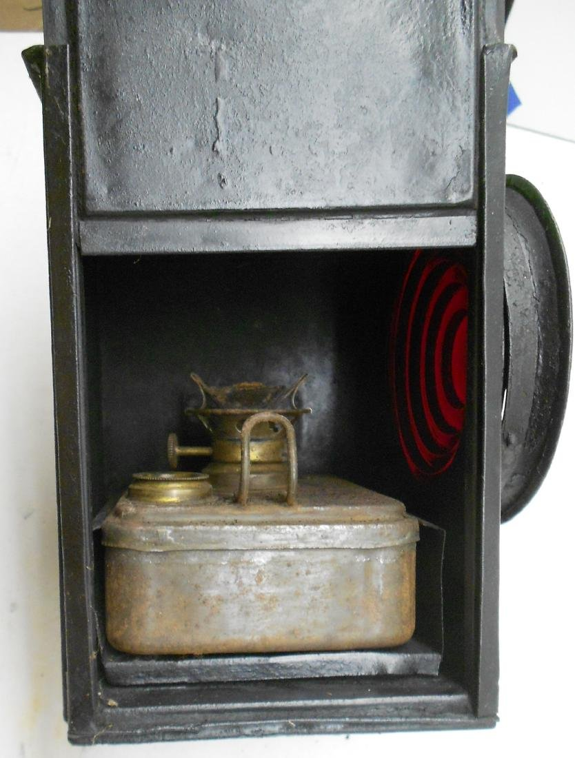 Lehigh & New England Railroad Gate Lamp - 3