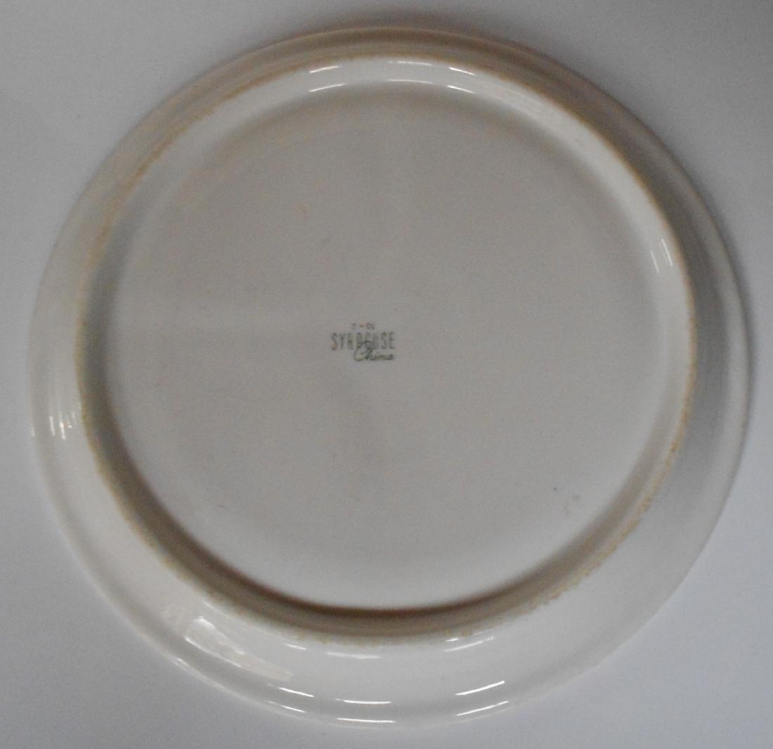 "Delaware & Hudson ""Canterbury"" Divided Dinner Plate - 3"