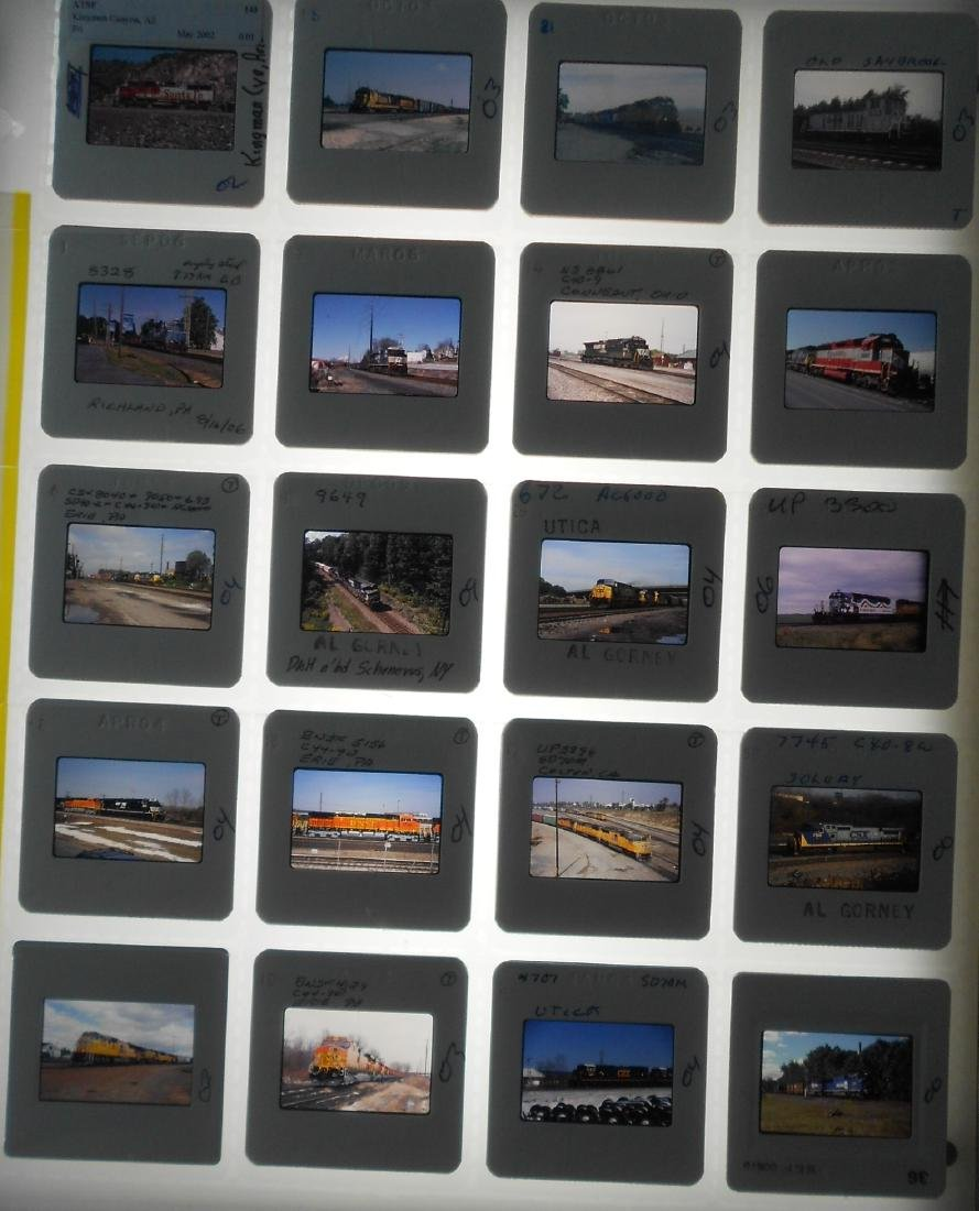 Main Line Railroad Color Slides #4 (197) - 2