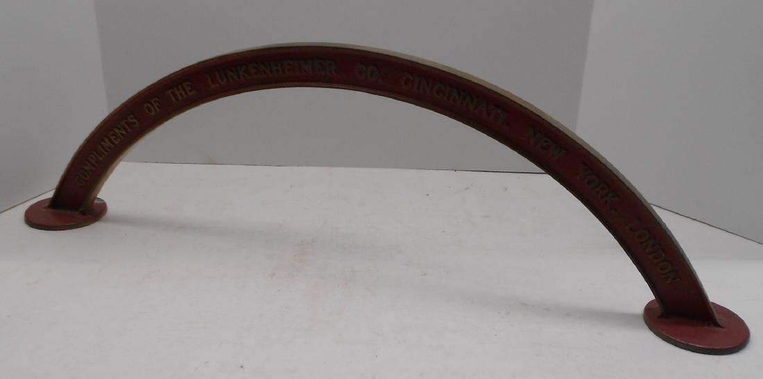 Brass Lunkenheimer Whistle Arch
