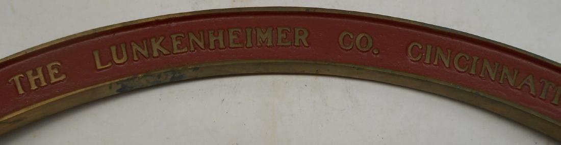 Brass Lunkenheimer Whistle Arch - 3