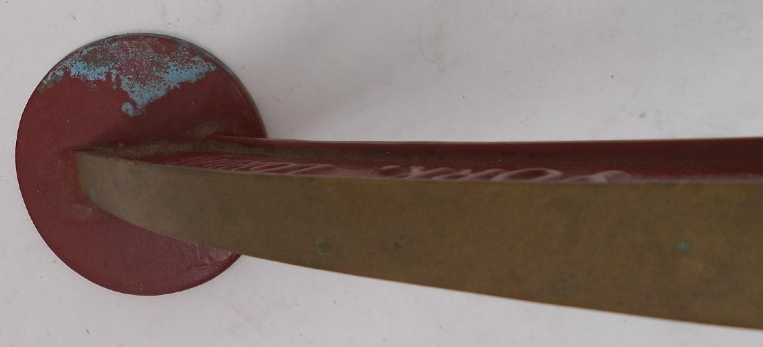 Brass Lunkenheimer Whistle Arch - 4