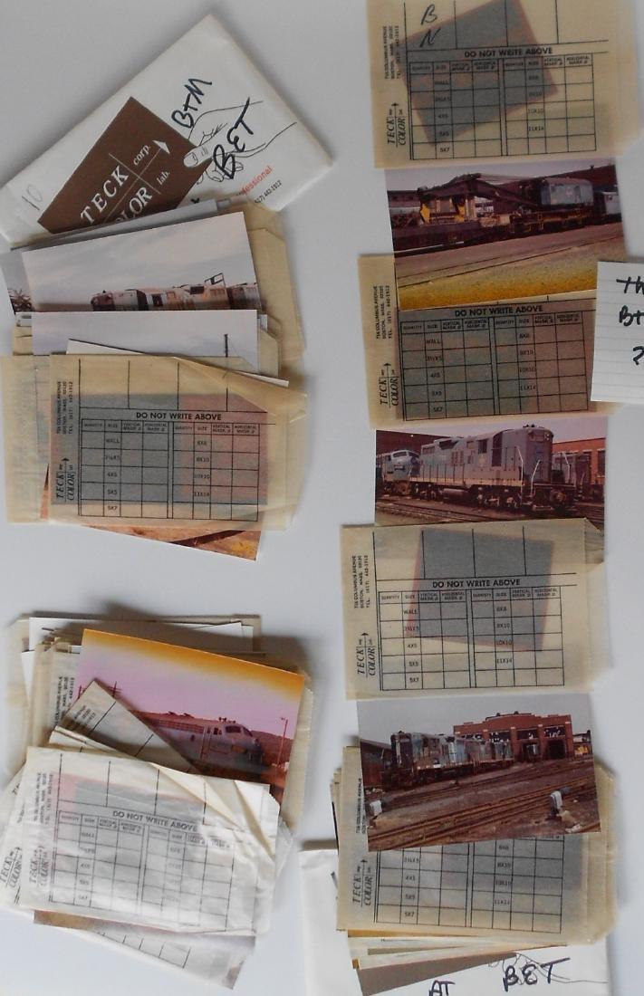 Railroad Color Photos & Negatives: B&M (55)