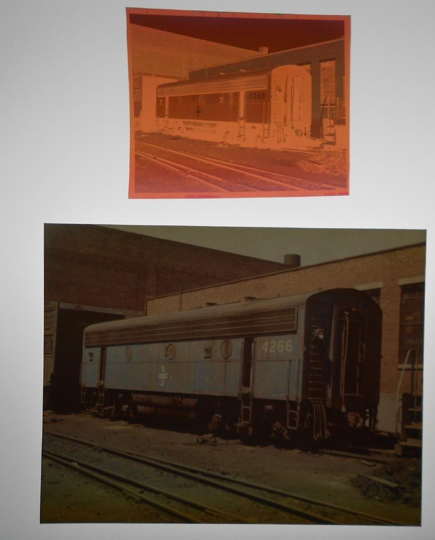 Railroad Color Photos & Negatives: B&M (55) - 2