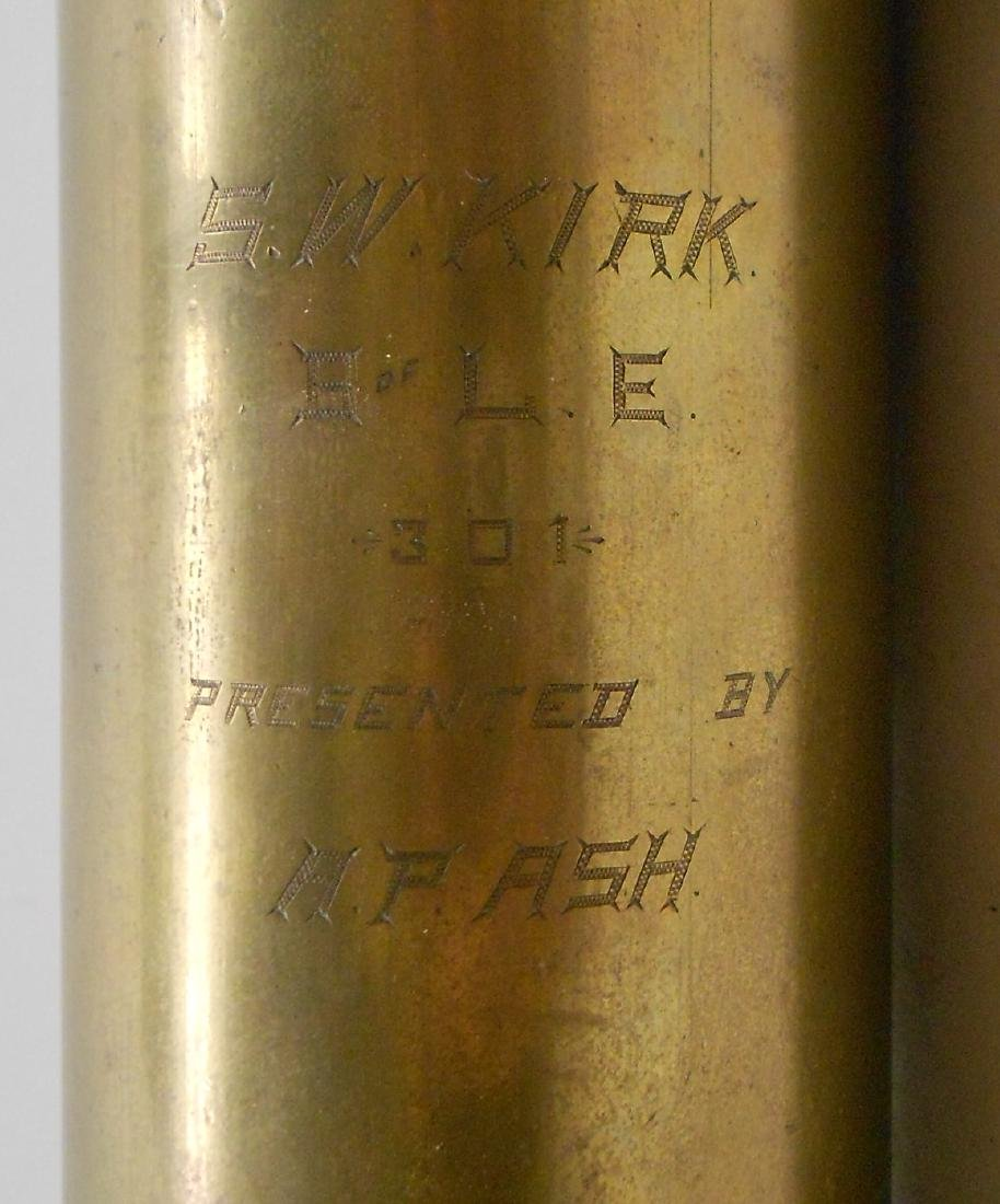 Brass BofLE Presentation Torch - 3