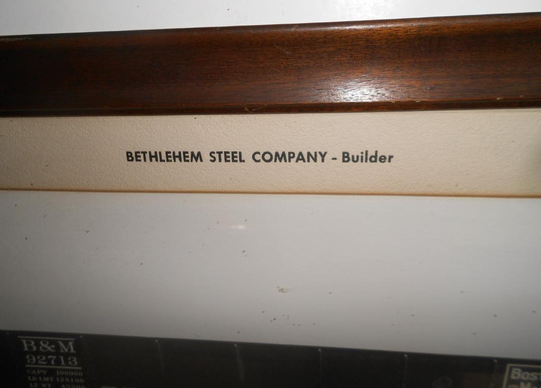 Framed Bethlehem Steel B&M Gondola - 2
