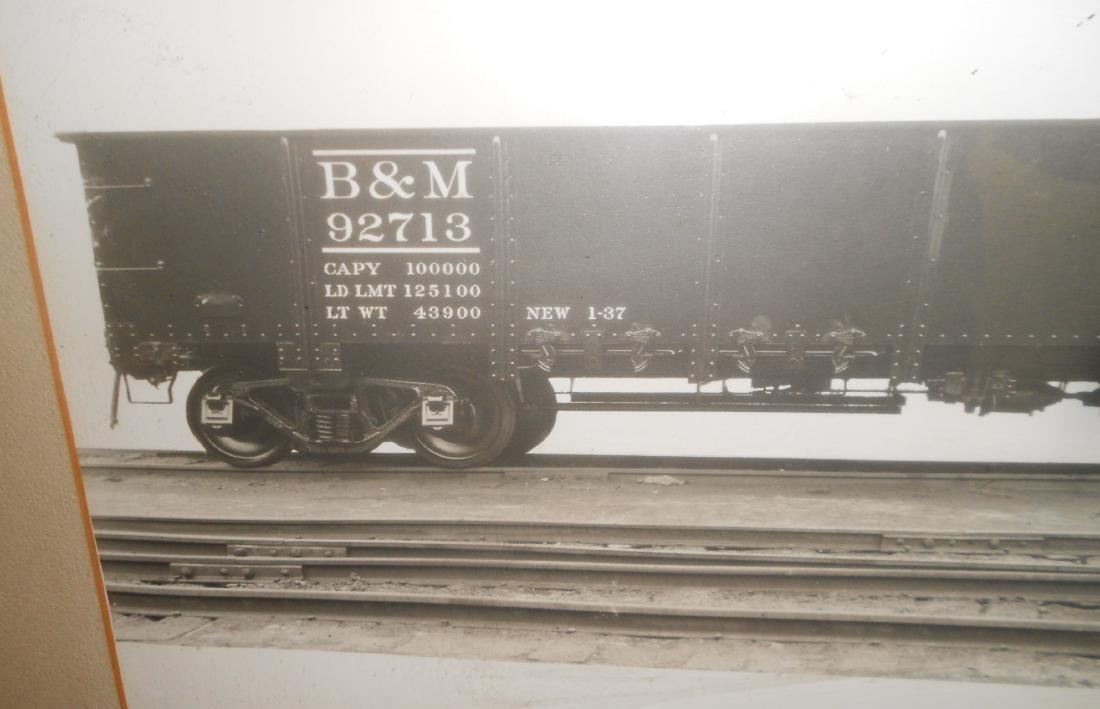 Framed Bethlehem Steel B&M Gondola - 3