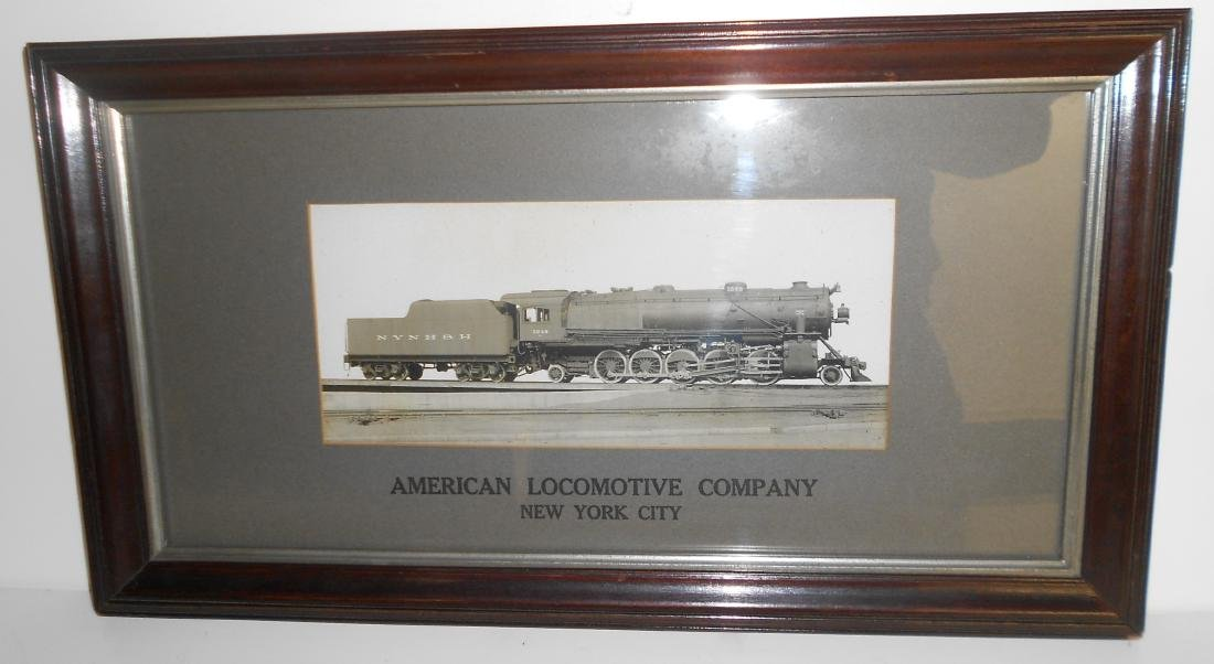 Alco New Haven 2-10-2 Framed Photograph