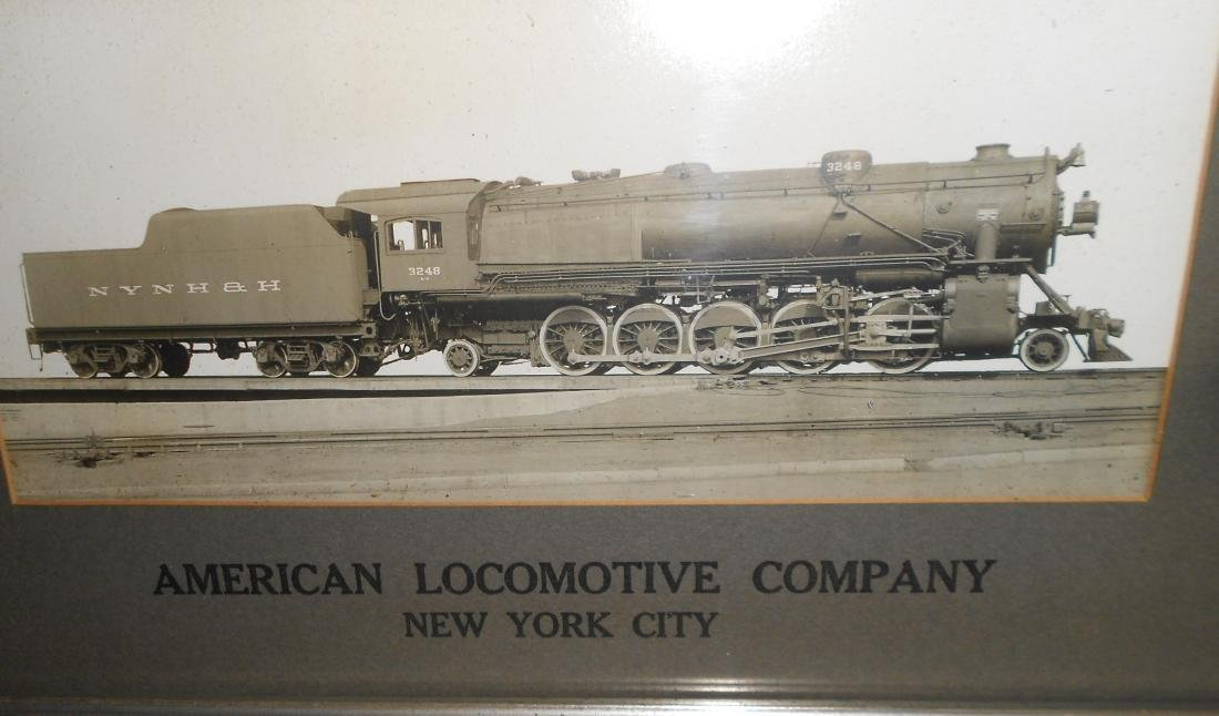 Alco New Haven 2-10-2 Framed Photograph - 2