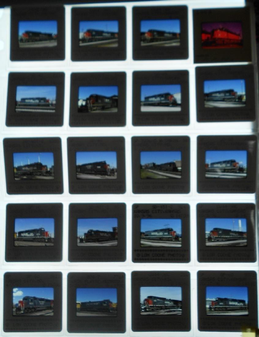 Boxed & Loose Railroad Color Slides (900+) - 3