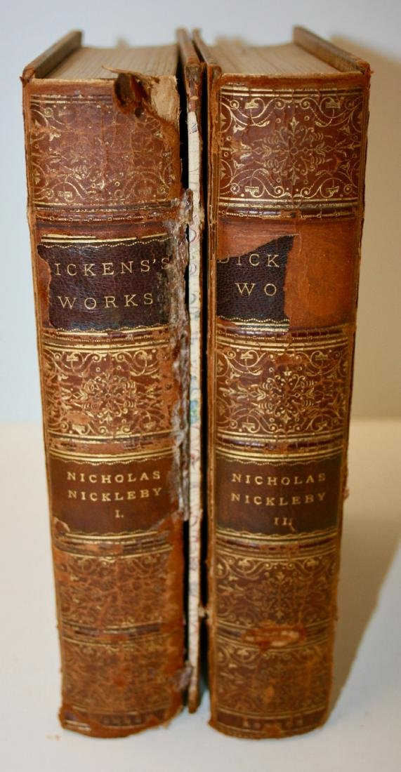 Books: Dicken's Works ca. 1875