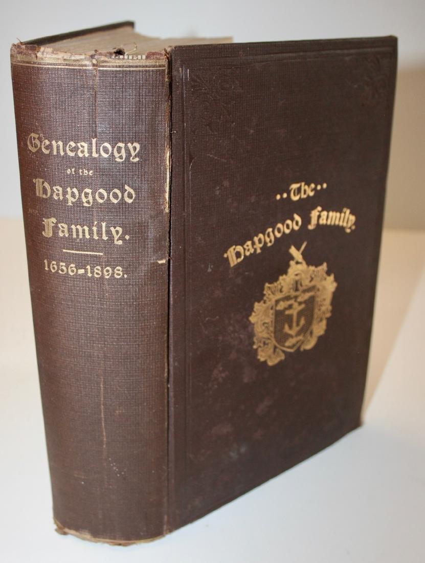 Book: Mass.  Geneology - 4