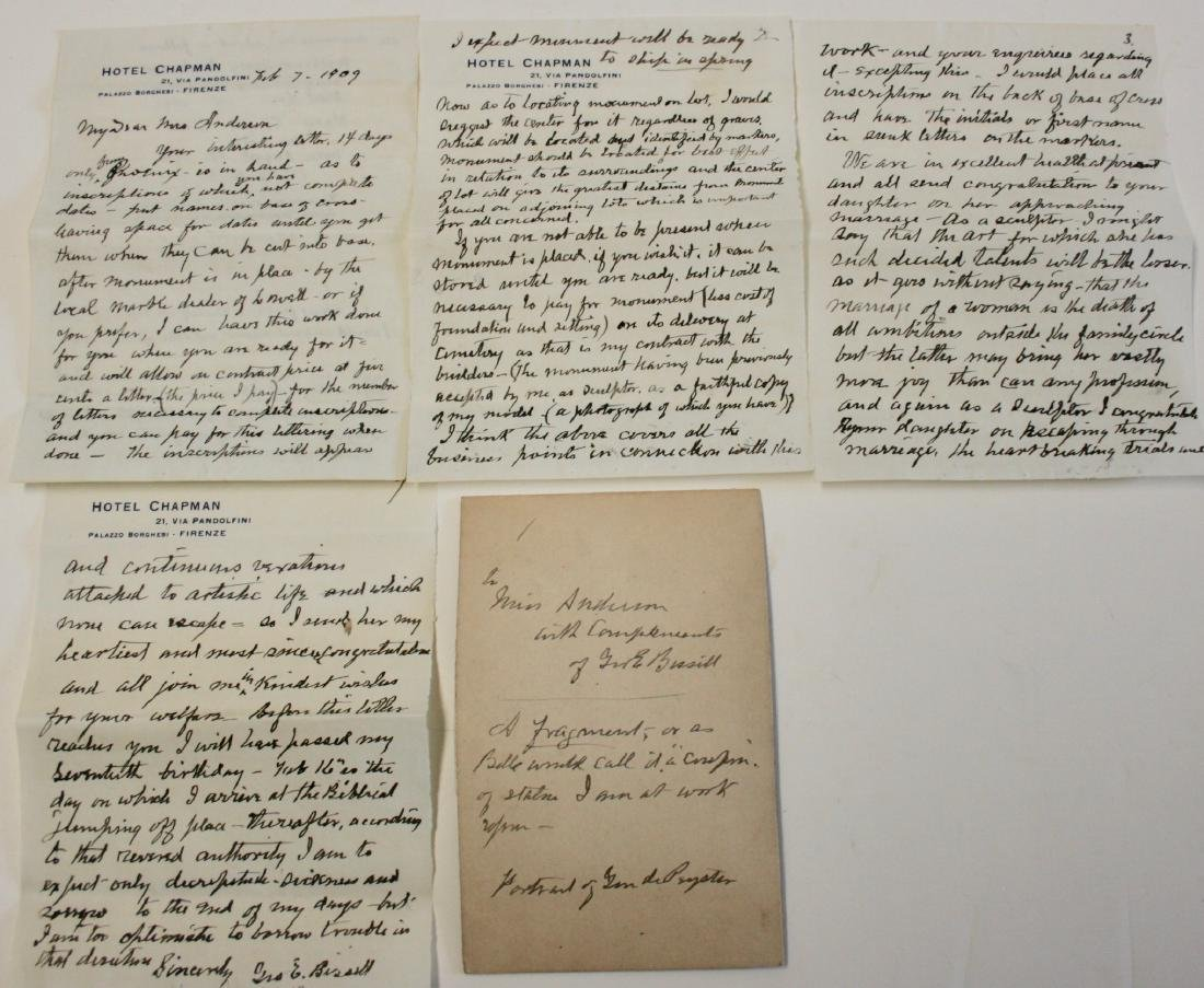 Letters:  From Williamstown, Mass. 1885