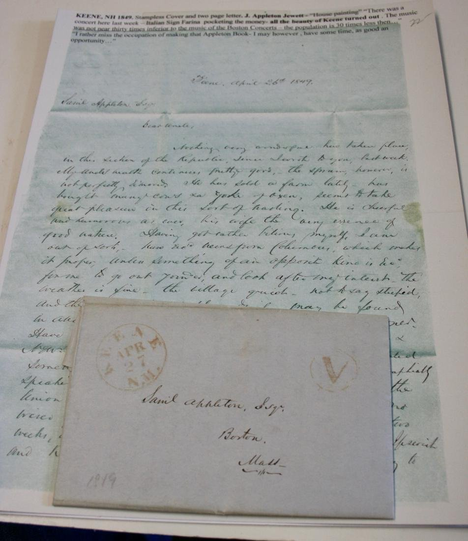 Letters: Early NH, ca. 1791-1890 - 3