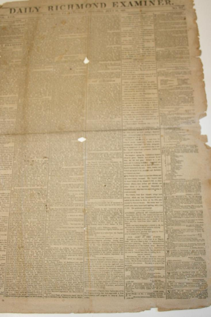 Newspaper: Civil War era,  1863 - 3