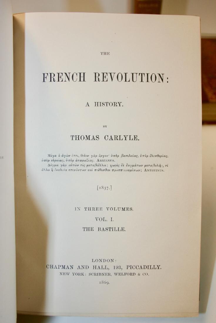 Books: The French Revolution, 1869 - 4