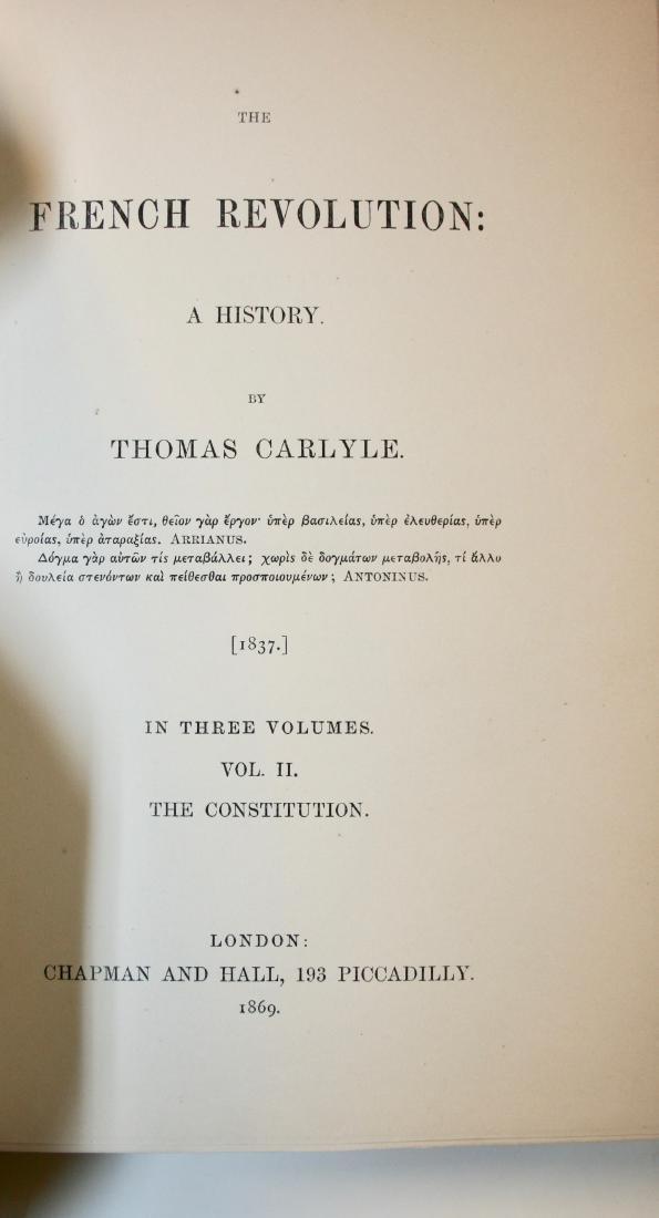 Books: The French Revolution, 1869 - 5