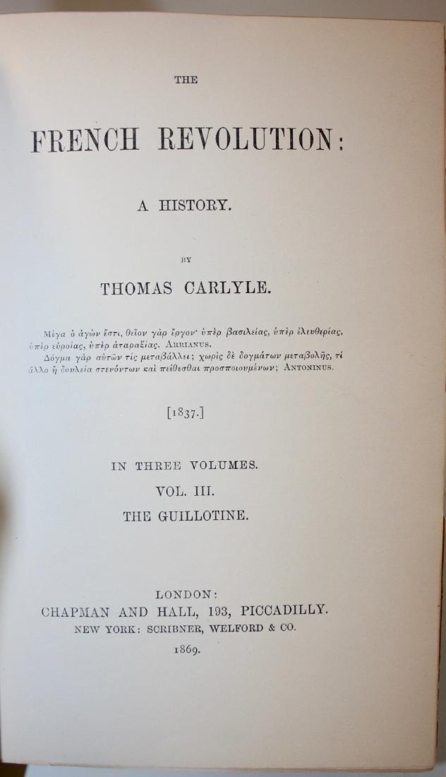 Books: The French Revolution, 1869 - 6