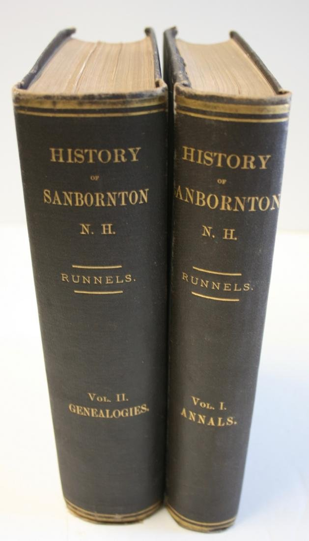 Books: NH Town History