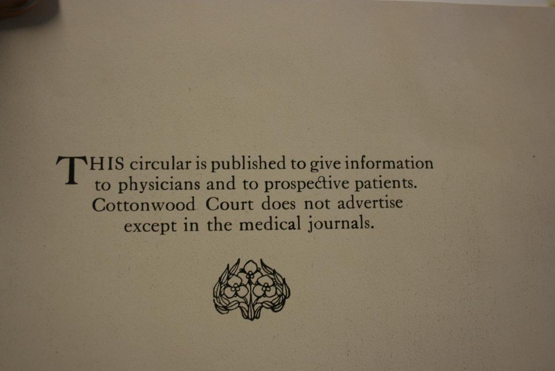 Booklet:Cottonwood Court, Mental Institution - 2