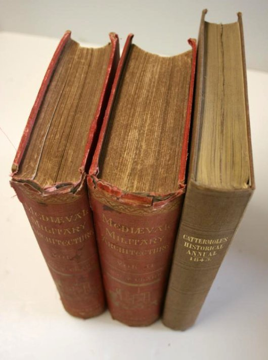 Books: Mid- Evil Architecture,  London 1884 - 2