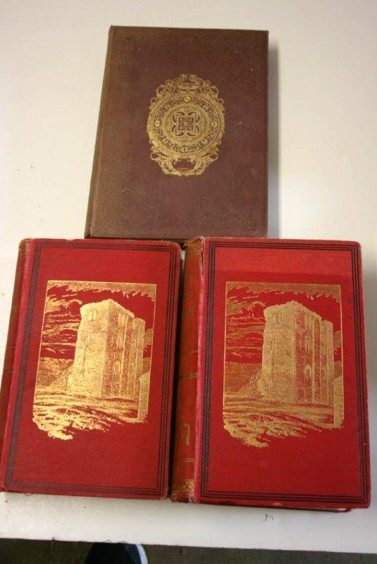 Books: Mid- Evil Architecture,  London 1884 - 3