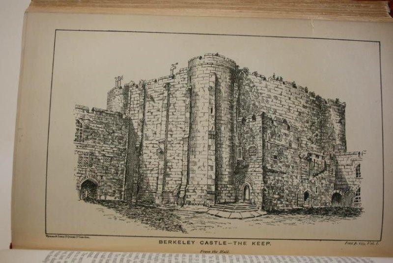Books: Mid- Evil Architecture,  London 1884 - 6