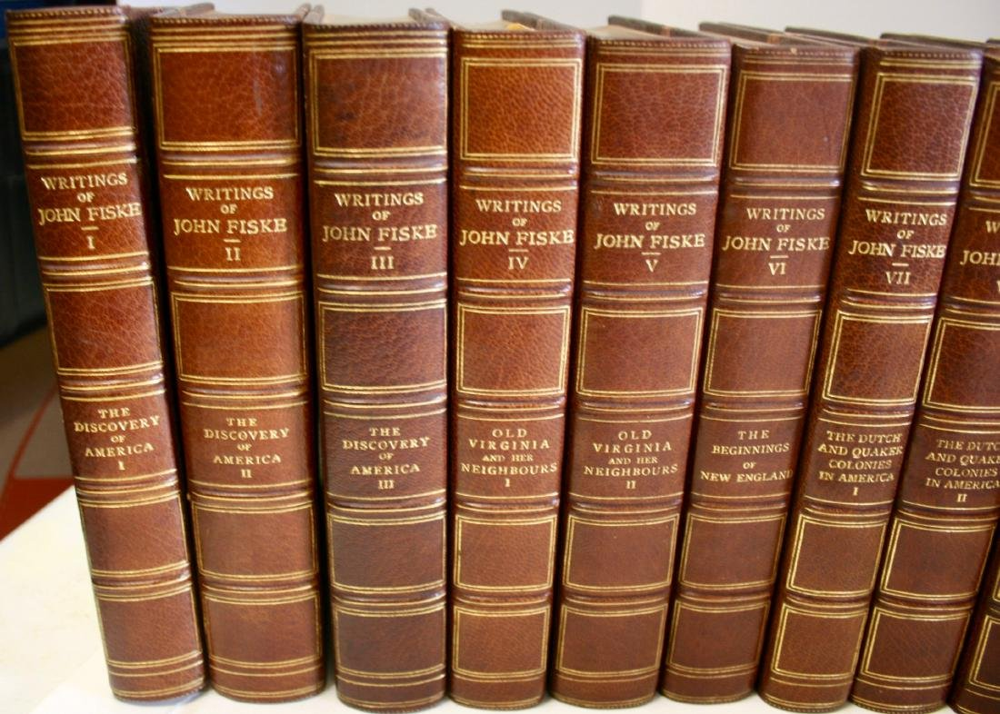 Books: Writings of John Fiske, 1902 - 2