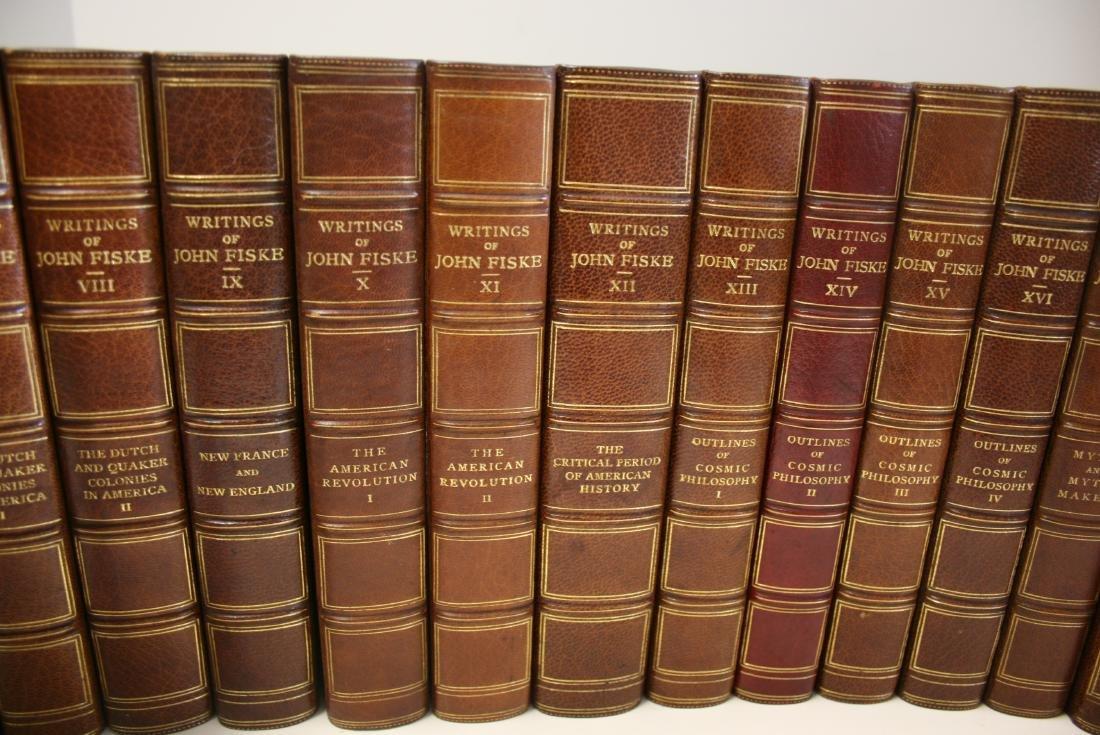 Books: Writings of John Fiske, 1902 - 3