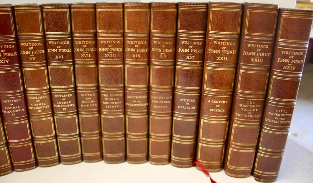 Books: Writings of John Fiske, 1902 - 4