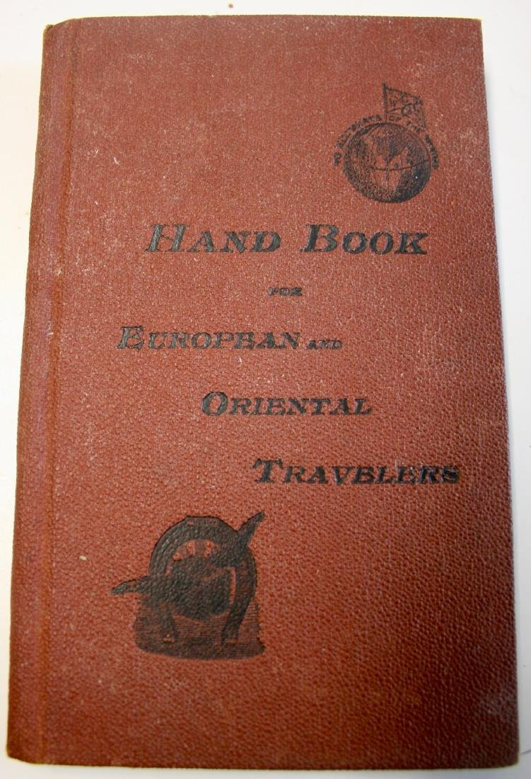 Books: Handbook for European & Oriental Travelers 1896 - 2