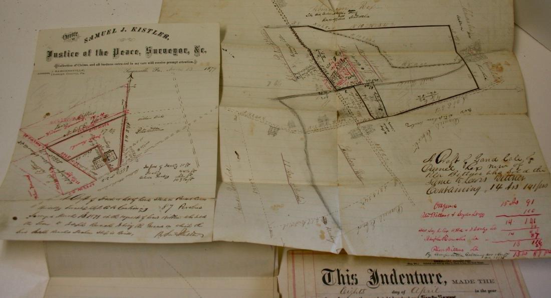 Documents: Lehigh, Pa. early deeds, 1860 - 2