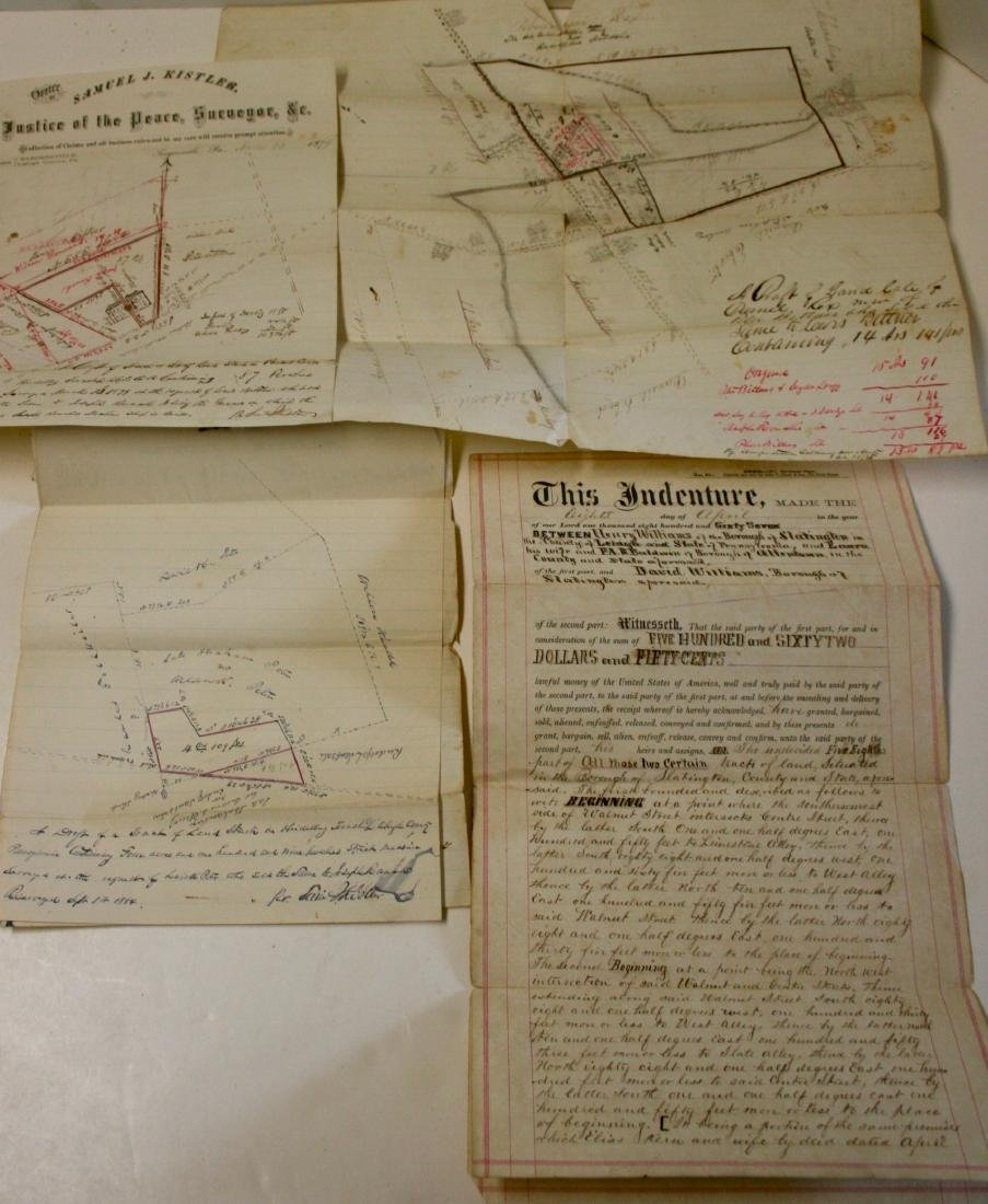 Documents: Lehigh, Pa. early deeds, 1860 - 3