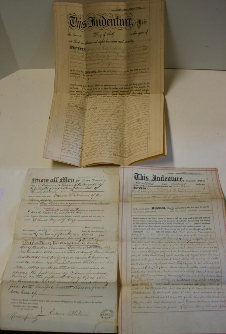 Documents: Lehigh, Pa. early deeds, 1860 - 6