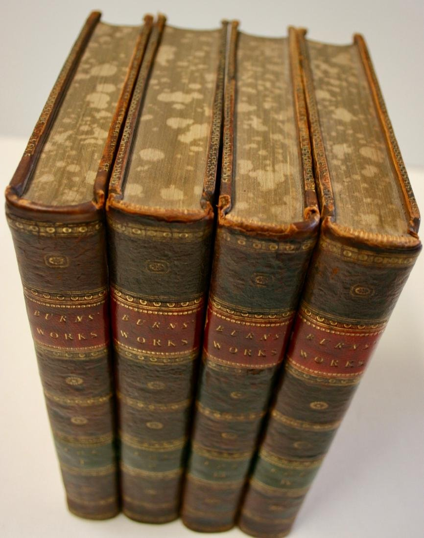Books: The Works of Robert Burns,  1803 - 2