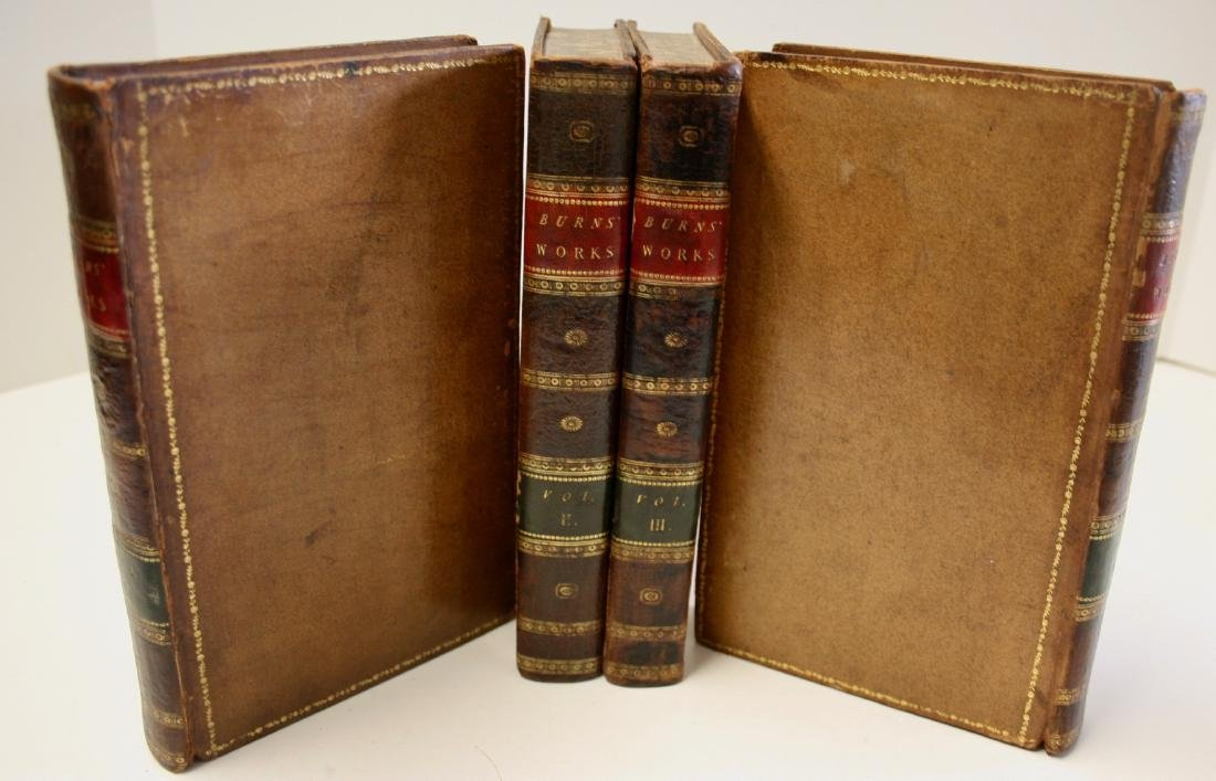 Books: The Works of Robert Burns,  1803 - 3