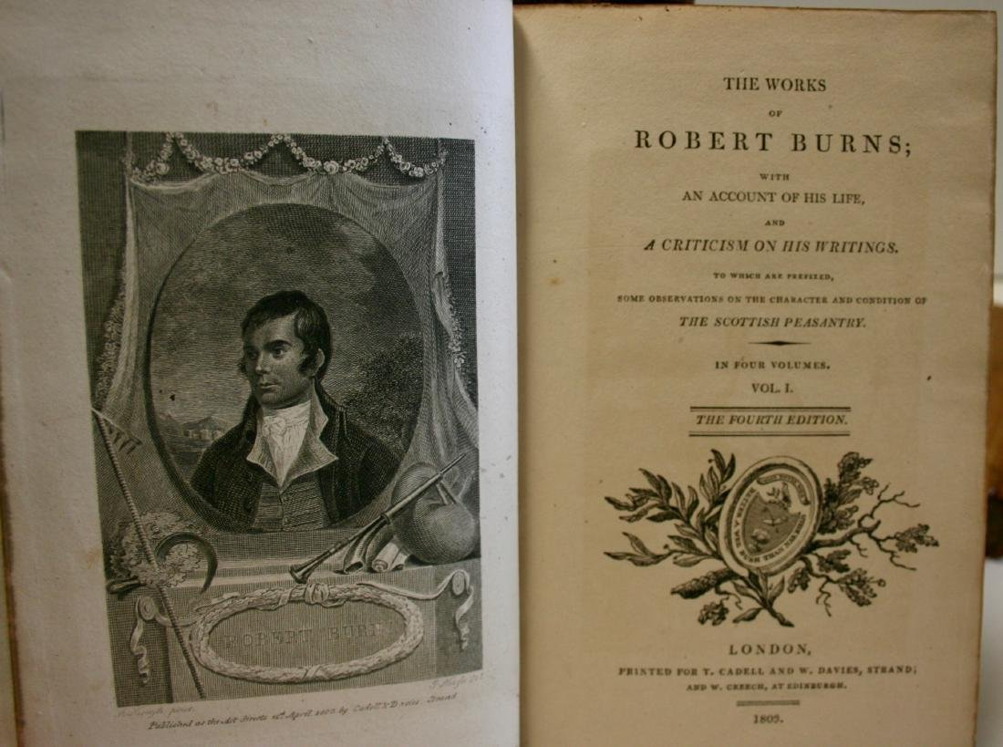 Books: The Works of Robert Burns,  1803 - 5