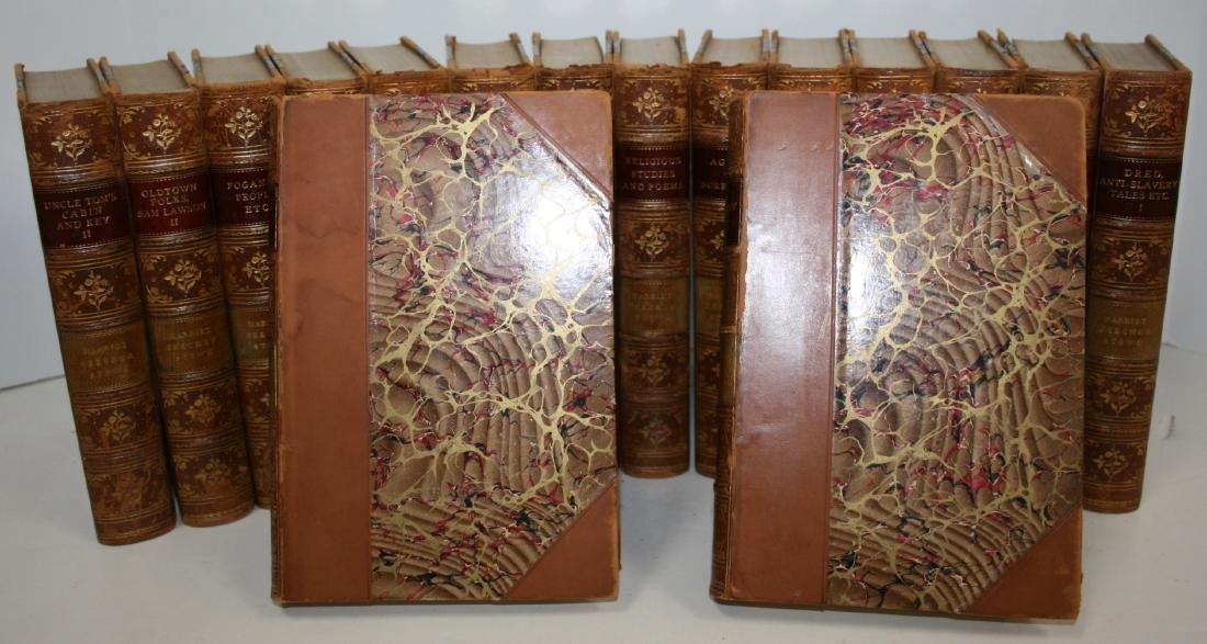 Books: 16 Vols Set Harriet Beecher Stowe's Works, 1896 - 2