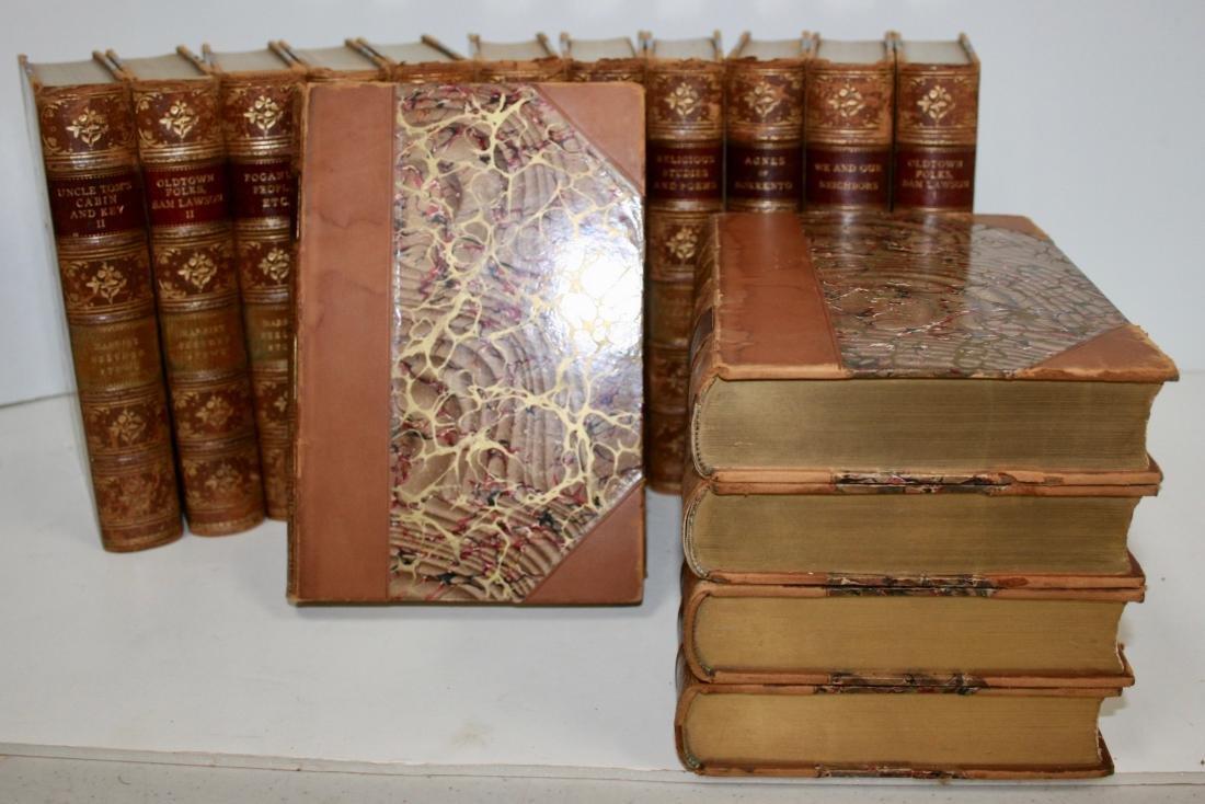Books: 16 Vols Set Harriet Beecher Stowe's Works, 1896 - 3