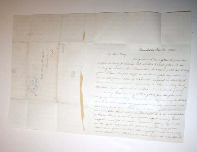 NH Documents & Stampless letters - 3