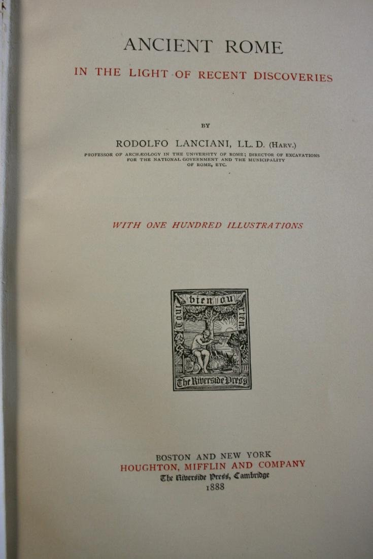 Books: New Tales of the Old Rome,  1909 - 7