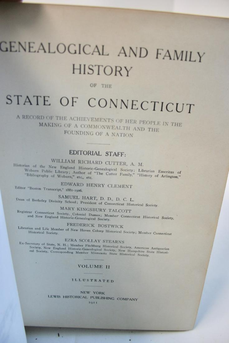 Books: Ct. Geneology 1911 - 6