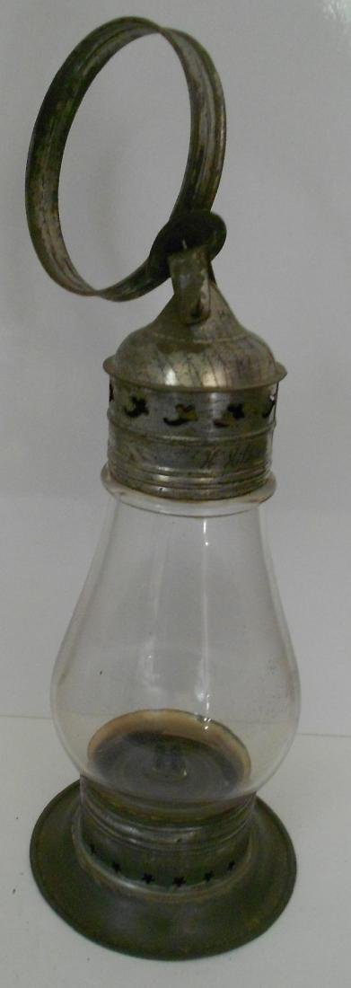 "New England Glass Fixed Globe Lantern ""Hildreth"""