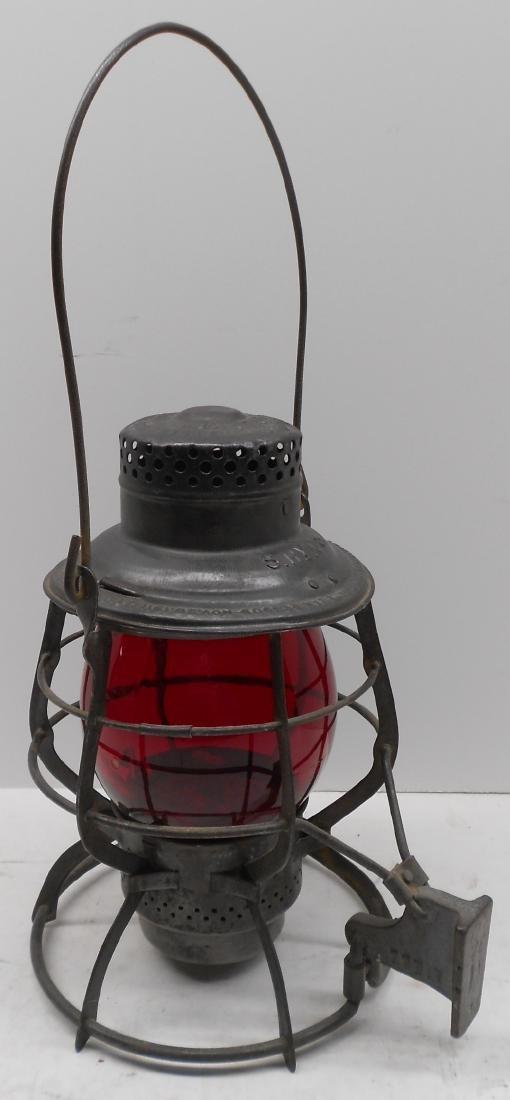 Schenectady Railway Company Adlake Lantern