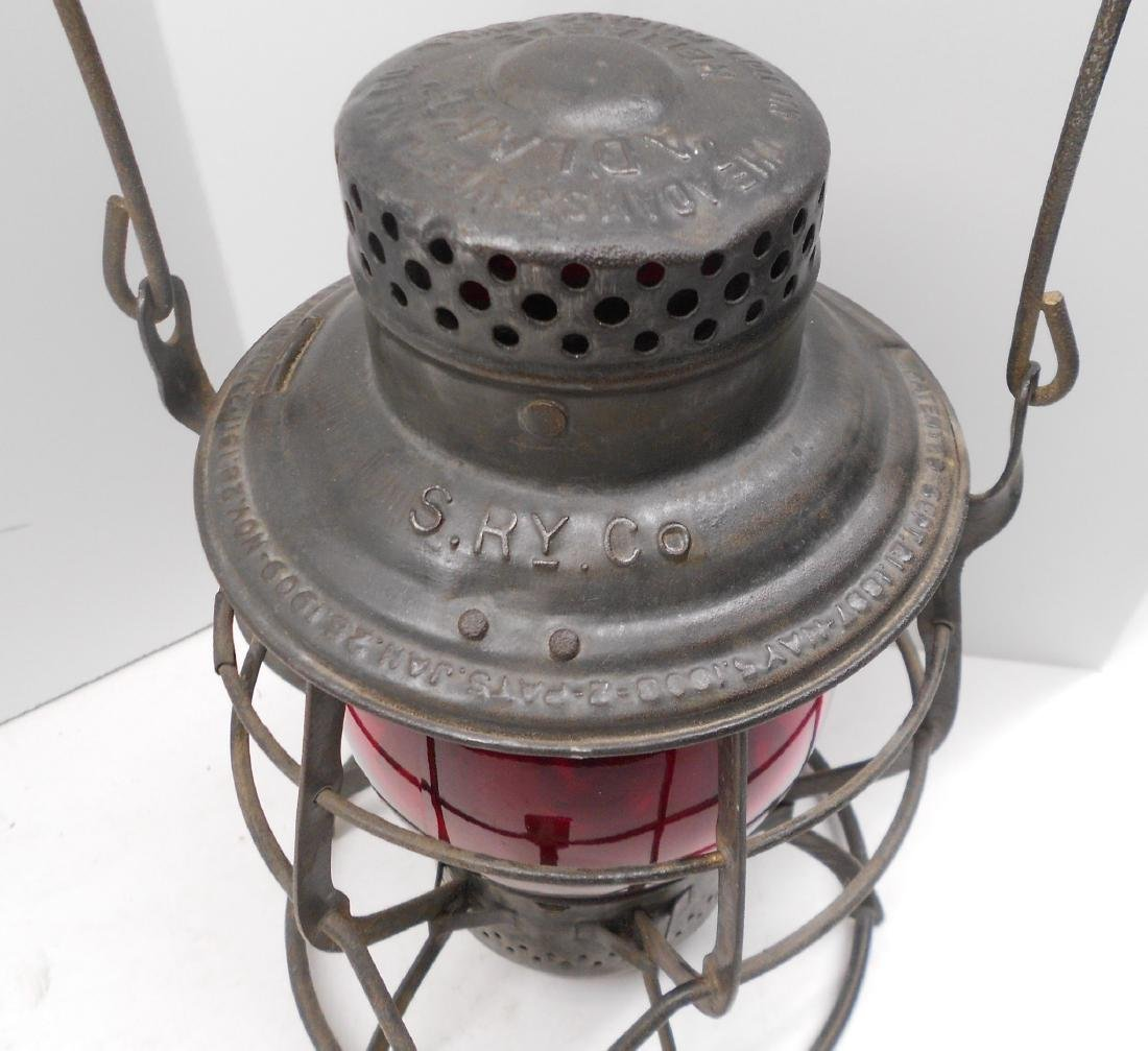 Schenectady Railway Company Adlake Lantern - 2